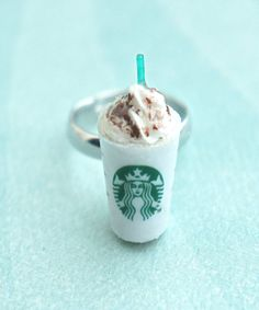 starbucks frappuccino ring-coffee ring food by jazlenecollection
