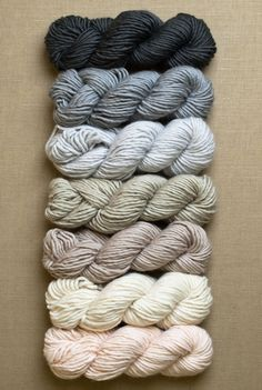 New Colors of Super Soft Merino! - The Purl Bee - Knitting Crochet Sewing Embroidery Crafts Patterns and Ideas!