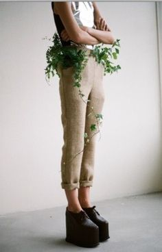 Egle Cekanaviciute: Seed Clothing Sprouts A Garden From Fabric