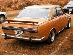 WEBSTA @ spriso - Beautiful Safari Brown #datsunbluebird #sss510 at the #nismofestival sporting a #fia rear wing... #datsun510 #datsun1600 #kp510 #1600sss #bluebirdcoupe #1970 #fisco #japan