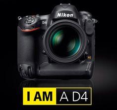 I AM Nikon D4