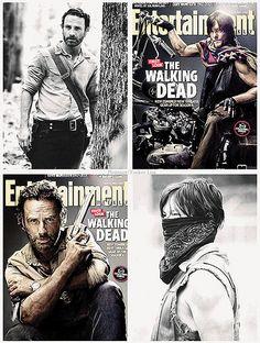 #TheWalkingDead: ☆Andrew Lincoln & Norman Reedus / Rick Grimes & Daryl Dixon☆