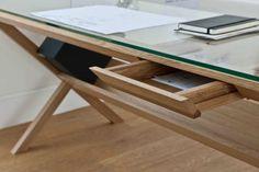 Holztisch-Büro-modernes-Design