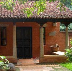 Farmhouse Interior Doors House Plans 35 Ideas For 2019 Farmhouse Interior Doors, Farmhouse Architecture, Architecture Design, Bamboo Architecture, Vernacular Architecture, Indian Architecture, Indian Home Design, Village House Design, Village Houses