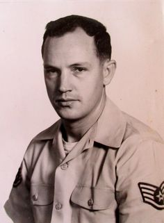 Air Force Staff Sgt. Ray Wiseman in 1959. He spent most of his 27 years in the Air Force fixing high tech communication equipment around the world. Photo provided