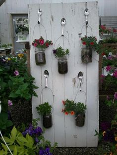 One of my projects from last year! The planted mason jars are a hot item at the greenhouse.