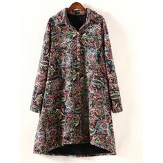 SHARE & Get it FREE | Plus Size High Low Floral Print CoatFor Fashion Lovers only:80,000+ Items·FREE SHIPPING Join Dresslily: Get YOUR $50 NOW!