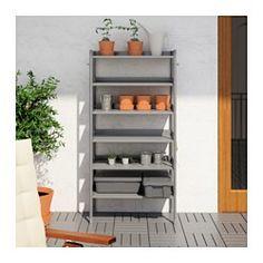 IKEA - HINDÖ, Étagère intérieur/extérieur, Également stable sur sol inégal car…