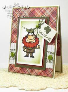 I made this card with the NEW Irish Hello Stamp set from Your Next Stamp. I also used YNS Olive Gumdrops. photo YNSIrishHello_edited-1RS1_zps3914082f.jpg