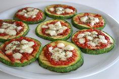 Pizzette di zucchine enerzona dieta zona ricetta in zona