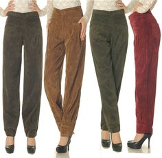 calças de veludo para o inverno - Pesquisa Google