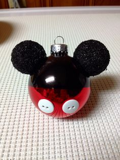 My 1st Mickey Mouse ornament I made for my Disney tree. :)