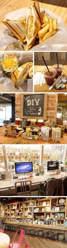 Hands Cafe - 7F, 12-18, Utagawacho, Shibuya-ku, Tokyu Hands in Shibuya recently opened a new cafe on the 7th floor called Hands Cafe. What a pleasant surprise, the cafe is beautifully decorated in a mesh of hip-stylish-techy-cozy all together and we really enjoyed snacking here during a much needed break.