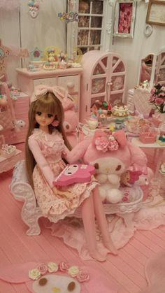 マイメロディ♪マイピュアメロディー|PLAIN BEAUTY ~姫物語大人編 私のリカちゃん日記
