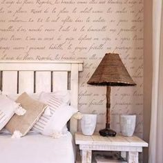 Springtime in Paris Stencil Set Wall Stencils Decorating A New Home, Home Decor, Wall Storage Systems, Springtime In Paris, Stairs In Living Room, Room With Plants, Geometric Decor, Cool Walls, Frames On Wall