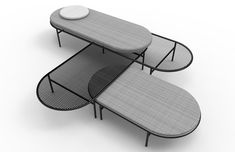 Marc Thorpe Presents DayTrip, an Outdoor Seating & Table System for Moroso M'Afrique - Design Milk