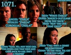 Angel -- backstory for Fred