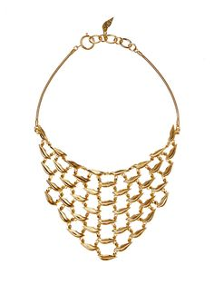 Designer Clothes, Shoes & Bags for Women Brass Necklace, Turquoise Necklace, Lip Jewelry, Jewelry Necklaces, Diane Von Furstenberg, Plating, Lips, Accessories, Formal