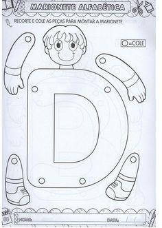 Preschool Art Activities, English Activities, Preschool Letters, Alphabet Activities, School Worksheets, Alphabet Worksheets, Childhood Education, Kids Education, Book Letters