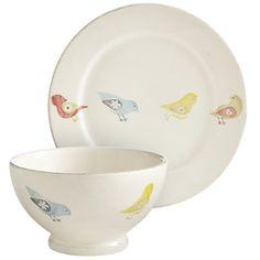 Little Bird Dinnerware at pottery barn!