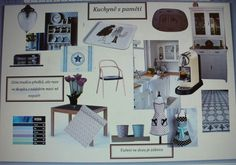 Eklektický domov: Moodboard kuchyněMoodboard neboli náladová nástěnk...