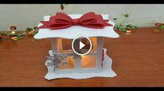 """Il seguente video tutorial, realizzato dalla Youtuber """"Uccia 3000"""", ci mostra come realizzare una deliziosa lanterna natalizia utilizzando la gomma crepla (detta"""
