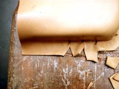 how to wet mold leather