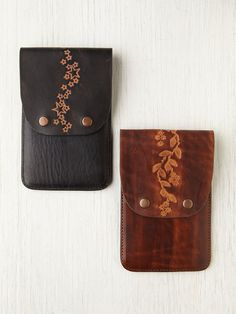 Leather Iphone Wallet at Free People Clothing Boutique