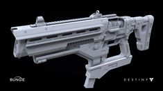 ArtStation - Destiny: Fusion Rifle 1B, Milton Cadogan