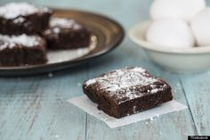 The Only Brownie Recipe You'll Need This Holiday Season -- and ONLY FOUR(4) INGREDIENTS: Nutella, Eggs, Flour, Salt