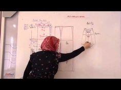 Ders-2 Elde kalıp modelistlik altıparcalı etek - YouTube