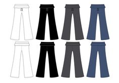 Altering pants to smaller size