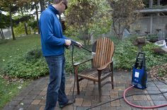 How to Clean Various Types of Outdoor Furniture Cleaning outdoor furniture will help preserve and assure a longer life, and it makes your patio area look fresh and ready for a great barbecue season.  Read more: http://www.pressurewasherguides.com/clean-various-types-of-outdoor-furniture/