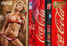 I Love Coca Cola by c-edward on DeviantArt Coca Cola Poster, Coca Cola Ad, Always Coca Cola, World Of Coca Cola, Vintage Ads, Vintage Posters, Cola Wars, Coke Ad, Pin Up Girls