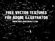 Free Vector Textures for Adobe Illustrator - Freelance Blog | Freelancer Daily | Business Tips and Inspiration for Freelancers