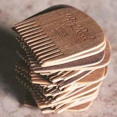 Short Stack #bigredbeardcomb #bigredbeardcombs #beardcomb #comb #combs #cherry #walnut #mustache #beard #beards #beardoil