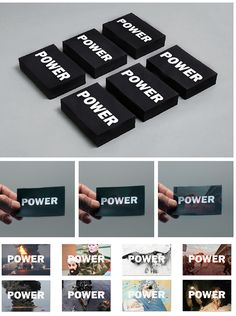 Guillem Casasús designs a striking book about POWER!