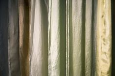 Fabrics Exhibited at Dutch Design Week, Dyed with Seaweed Extracted Colors