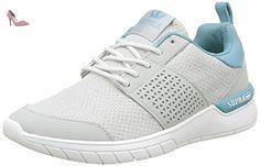 Supra Scissor, Baskets Basses Femmes, Gris (Light Grey/Aqua Wht), 42 EU - Chaussures supra (*Partner-Link)