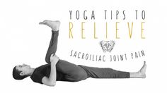 Joint Pain Remedies Adjust your relationship to the SI joints through asana. - Adjust your relationship to the SI joints through asana to relieve pain. Sacroiliac Joint Dysfunction, Si Joint Pain, Yoga International, Scoliosis Exercises, Hip Stretches, Rheumatoid Arthritis Treatment, Yoga Tips, Back Pain, Pain Relief