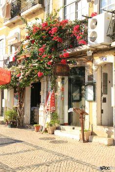 Calçada à Portuguesa: Rua Vieira Portuense em calçada, Belém, Lisboa