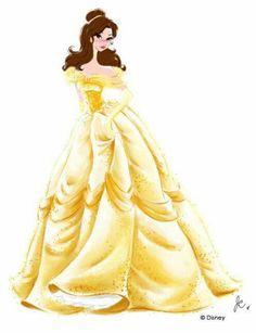 Disney Princess Watercolors by Jenny Chung Design - Best of Disney Art