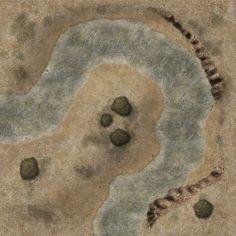 Desert Bend in the Creek TileAD9 by Madcowchef on DeviantArt