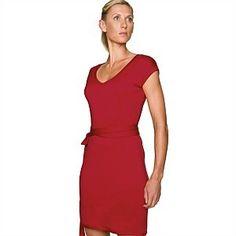 Icebreaker Villa Dress Jasper (large) ** | Leggings, broeken, rokken en jurken | MOOSECAMPwebshop