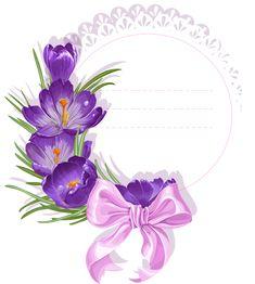 "Photo from album ""Наборы on Yandex. Flower Backgrounds, Wallpaper Backgrounds, Flower Frame, Flower Art, Scrapbook Paper, Scrapbooking, Happy Birthday Flower, Instagram Frame, Birthday Frames"