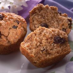 All-Bran Applesauce Muffins - A favorite at our house!