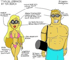 #Lebanese_way #Lebanon #Beaching #Lol #So_true #Funny