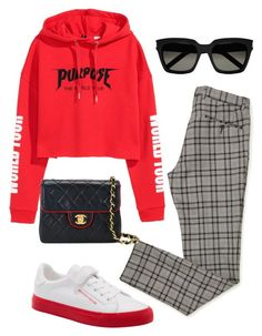 """""""Untitled #5733"""" by lilaclynn ❤ liked on Polyvore featuring Chanel and Yves Saint Laurent"""