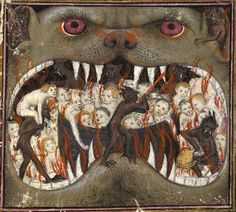 mouth of hell. Thomas de Saluces, Le Chevalier errant, Paris ca. 1403-1404.