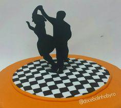 Doce Bolinho by Ro: Bolo Dança de Salão